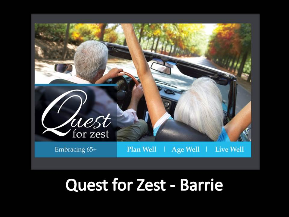 Quest for Zest for Home Page