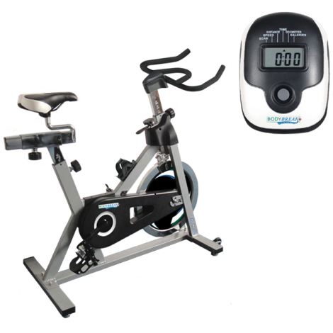 Indoor Cycle Trainer ——   includes *Shipping & Handling   + Free BodyBreak Book and T-Shirt + A Special 30 Days To Greatness Program