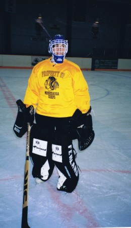 Jo-playing-Goalie-for-Mississauga-Chiefs-November-1996-260x452
