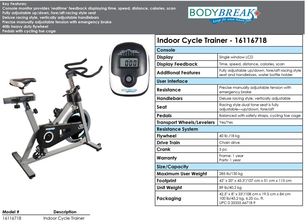 Indoor Cycle Trainer – 16116718